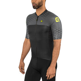 Alé Cycling Solid Climb Maillot manches courtes Homme, grey-black